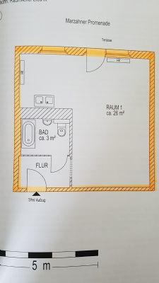 gewerberaum gewerbe nachmieter in marzahn mit terrasse bad und k che 32 m gewerbe grundst ck. Black Bedroom Furniture Sets. Home Design Ideas