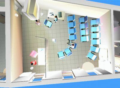 Mittlere Einheit: Nutzung Schulung 45 m2