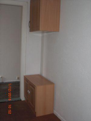 Küche mit EBK-linke Seite