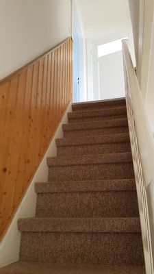 Treppe Ansicht von unten