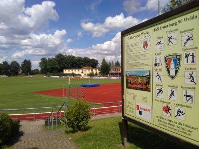 Stadion mit vielen Sport-Angeboten