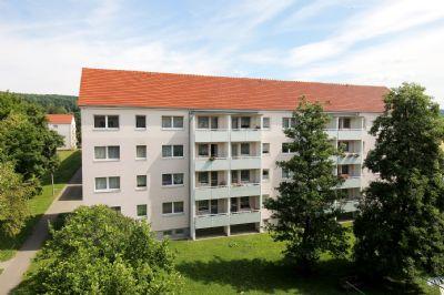 Das Wohngebäude Bahnhofstr. 25-29 in ruhiger Lage