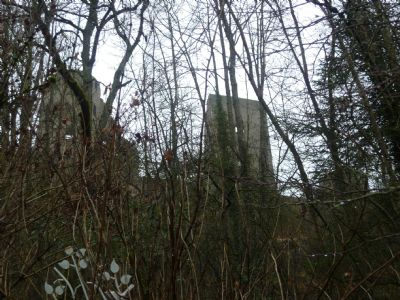 Lage unterhalbe der Burg