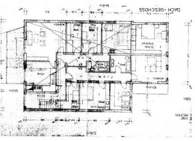 Grundrißplan DG- Hs.18a überwiegend Südseite