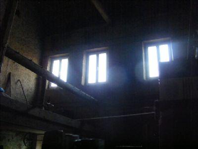hier die Etage mit den gesetzten Fenstern
