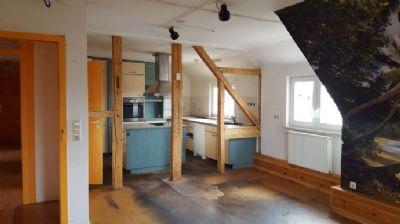 Wohn-Essbereich Wohnung DG