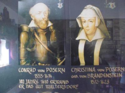Ursprung am Rand des Ritterguts : ca. 400 Jahre