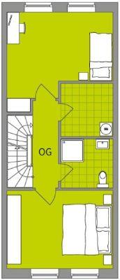 Mittelhaus Obergeschoss