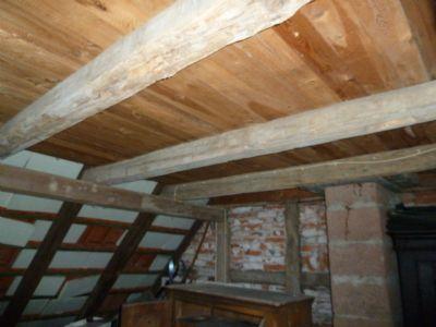 Dachgeschoss nicht ausgebaut
