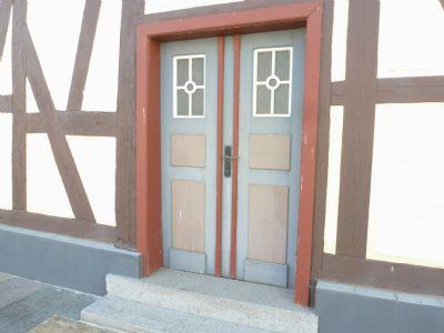 Originale Eingangstür