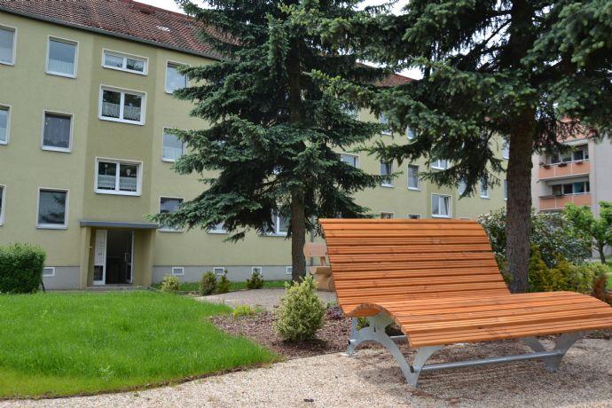 4 Raum Wohnung mit Balkon im Grünen