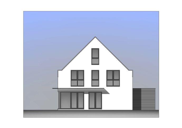 Moderne Architektur in ländlicher Lage