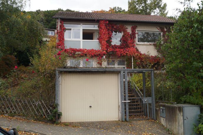 Freistehendes Haus in Hambach unterhalb des Hambacher Schlosses