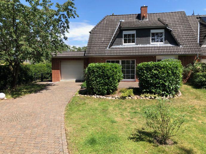 Doppelhaushälfte 137qm * 4 Zimmer m. Garten in Maschen Horst * + Garage * + ausgebauter Keller 50qm*