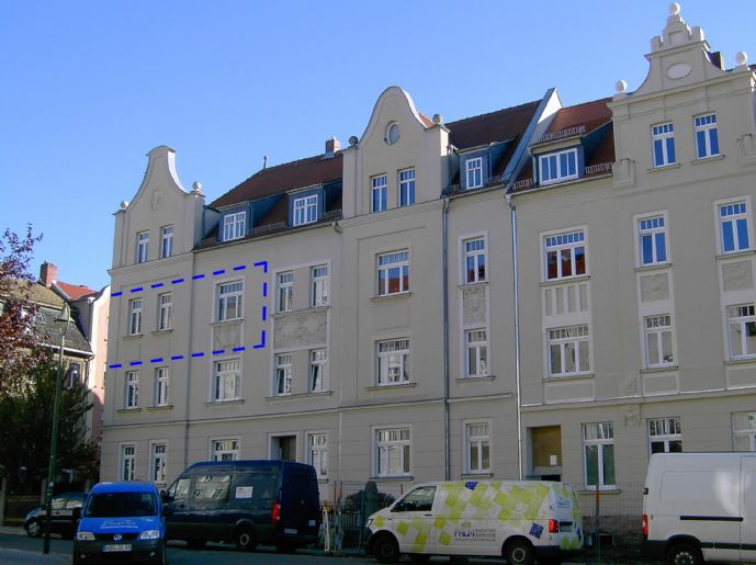 helle 2-Zimmer-Wohnung in Altenburgs beliebtem