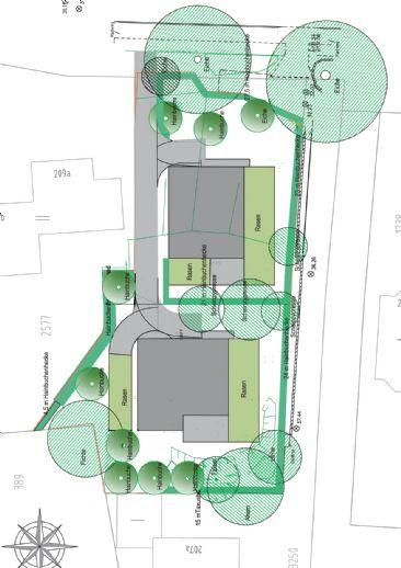 Neubauplanung von 2 Architektenhäusern in Lemsahl-Mellingstedt
