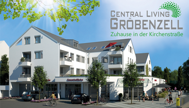 Neubau Moderne 2-Zimmer-Dachgeschoss-Eigentumswohnung Central Living