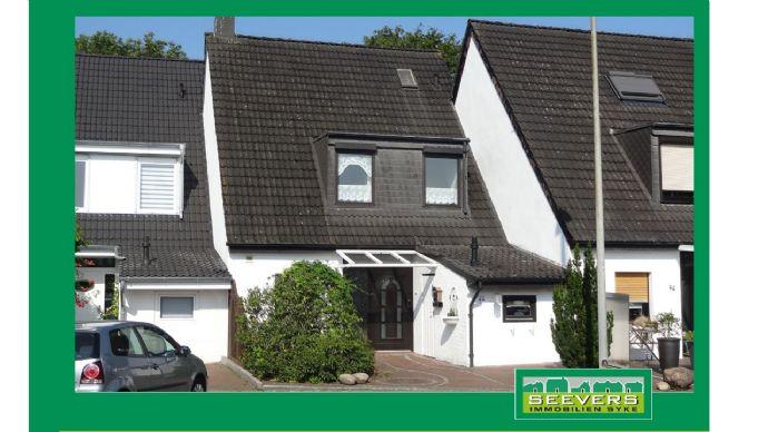 Hier will ich wohnen! Einfamilienreihenhaus in ruhiger Sackgassenlage in Stuhr bei Bremen