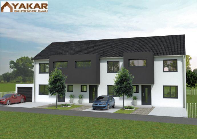 **NEUBAU** 2 Reihenhäuser und 1 Endhaus in Edigheim (Kriemhildstraße)