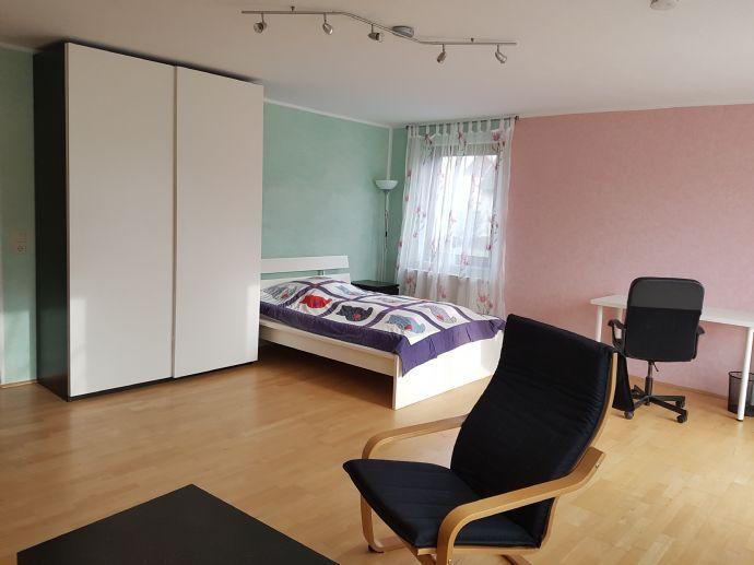 1-Zi.Wohnung, möbliert, EG, sehr ruhige Lage
