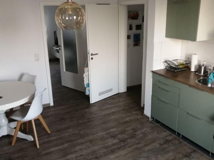 Zur Untermiete: voll möblierte 2-Zimmer-Wohnung mit Balkon in Düsseldorf Oberkassel