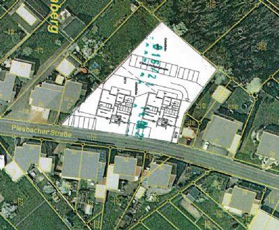 Baugrundstück mit gen. Bauvoranfrage für 2 Mehrfamilienhäuser