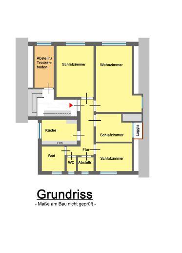 Großzügige 4-Zimmer-Wohnung in Horneburg - Bahnhof fußläufig erreichbar *****