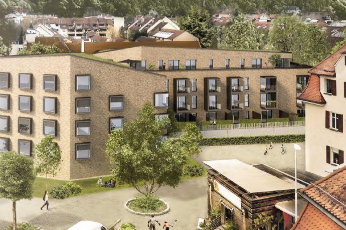 Citylage - 3 Zimmer - Neubau-Erstbezug - ruhig mit Blick ins Grüne - Süd-Balkon - Tageslichtbad