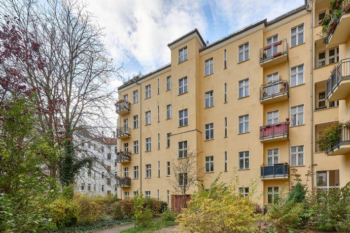 Bezugsfrei! Schöne und ruhige Erdgeschoss-Altbau-Wohnung unweit Schönhauser Allee Arkaden