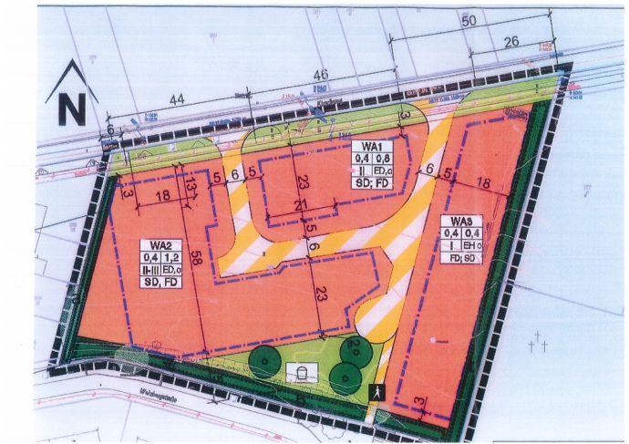 Baugrundstücke in idyllischer Lage von ca. 500 m² bis 1000 m²