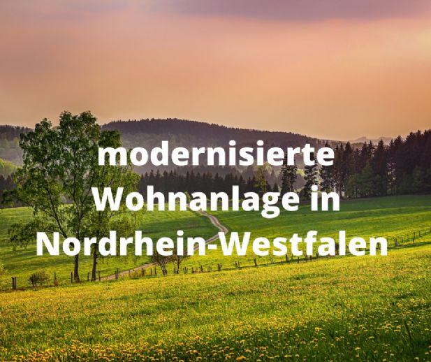 Modernisierte Wohnanlage in Nordrhein-Westfalen
