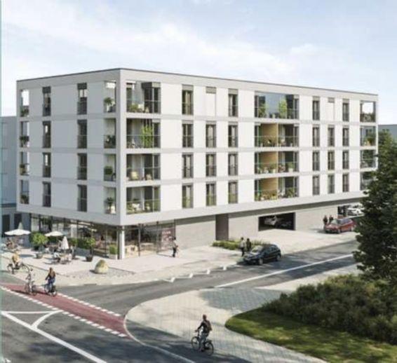 Neubau, Erstbezug: stilvolle 2-Zimmer-Wohnung in Mannheim zu vermieten