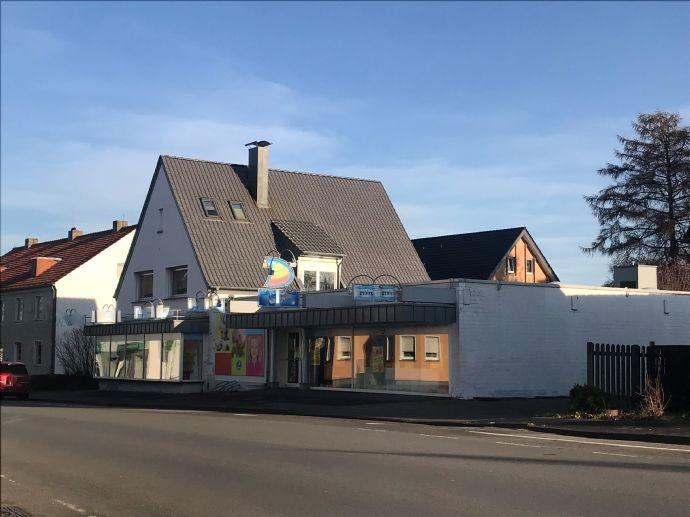 Wohn- und Geschäftshaus plus Lagerfläche in Löhne.