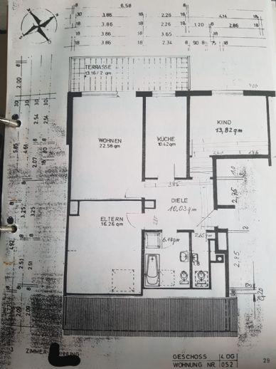 Schöne 3 Zimmer-Wohnung in Ludwigshafen-Friesenheim zu verkaufen