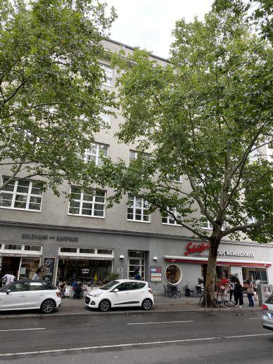 Große + helle 3-Zimmerwohnung in Charlottenburg - Nähe Kudamm - zu vermieten