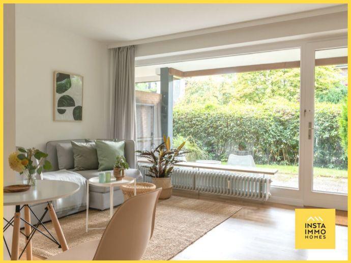 Traumwohnung mit Terrasse im grünen Blankenese