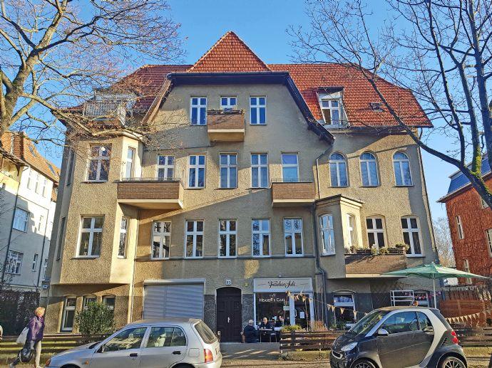 Provisionsfrei: Sanierte bezugsfreie 5-Zi-Altbau-Wohnung, Bad, Gäste-Bad, Balkon, nahe Kranoldplatz, Bahnhof Lichterfelde-Ost,