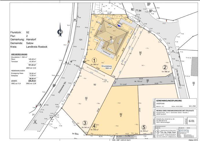 Bungalow in Hanstorf - Neubau inkl. Grundstück