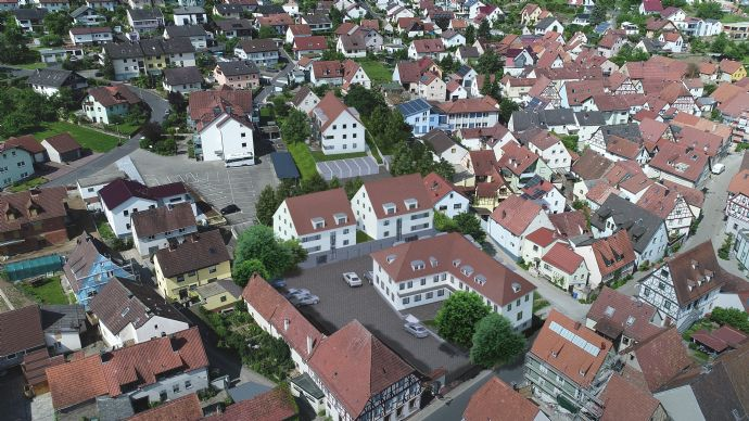 MAINHOF 14/16 ERLABRUNN- Attraktive Zweizimmerwohnung mit Terrasse - Whg. A1