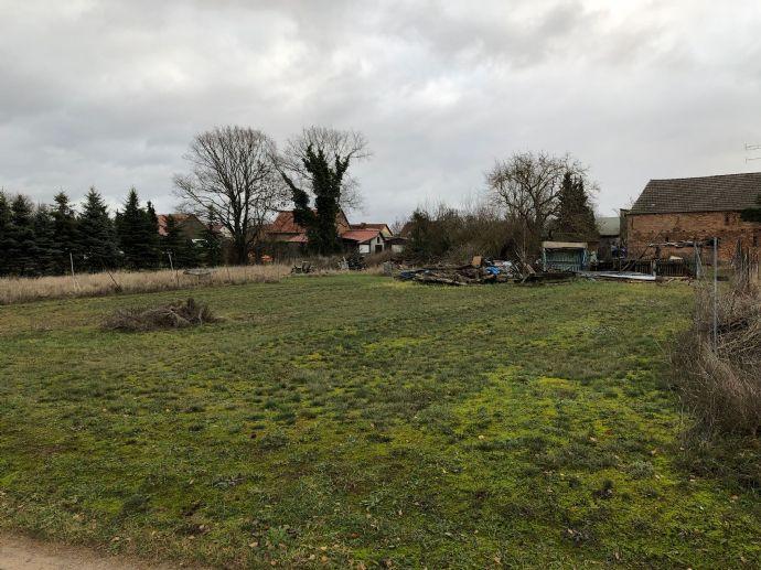 Großes Baugrundstück für 1 oder 2 Häuser in ländlicher Lage!
