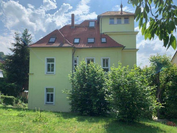 Herrschaftliche Villa mit zusätzlichem Baugrundstück in Freital