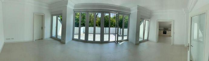 Repräsentative großzügige helle 4-Zimmer Penthousewohnung Alt-Solln lichtdurchflutet 150 m²