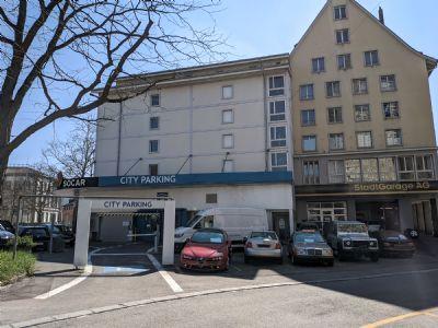 Schaffhausen Garage, Schaffhausen Stellplatz