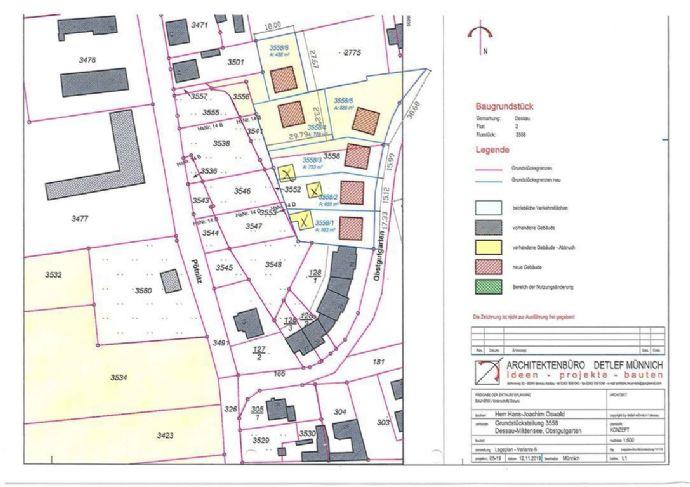 Dessau - Mildensee, Grundstücke Am Obstgutgarten