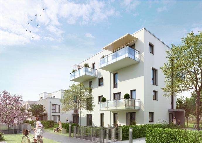 Super: Balkon mit Parkblick. Praktisch: Zwei Kellerräume mit über 20 qm!