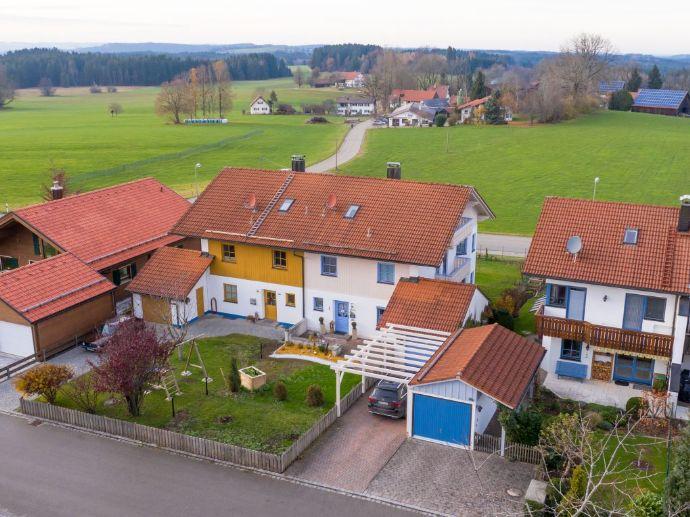 Renovierte Doppelhaushälfte mit Fernblick