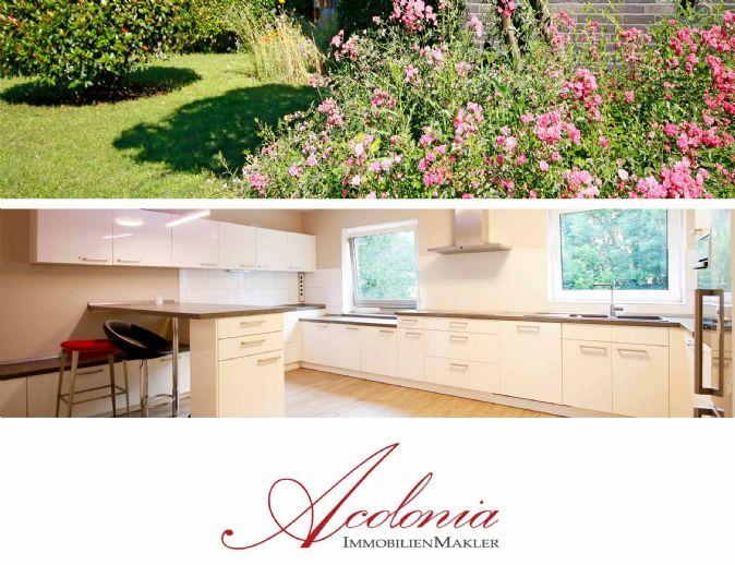 Acolonia Immobilienmakler: Dreikönigen-Siedlung in Efferen - Sackgassenwohnung für Wohnküchenlieb
