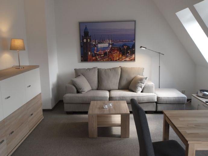 Beste Lage in Wedel ! Modern möblierte 1 Zimmer Wohnung