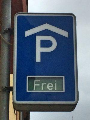 Mühlhausen Garage, Mühlhausen Stellplatz