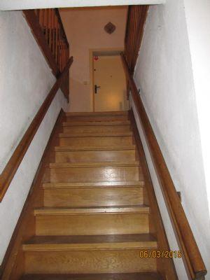 Treppe im Wohnhaus